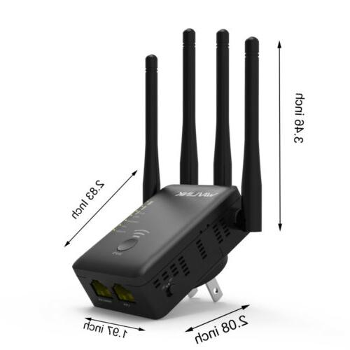 AC1200 WiFi Repeater Extender Booster Router Band Gigabit