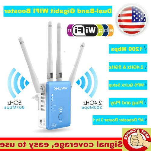ac1200 wifi repeater wireless extender booster router