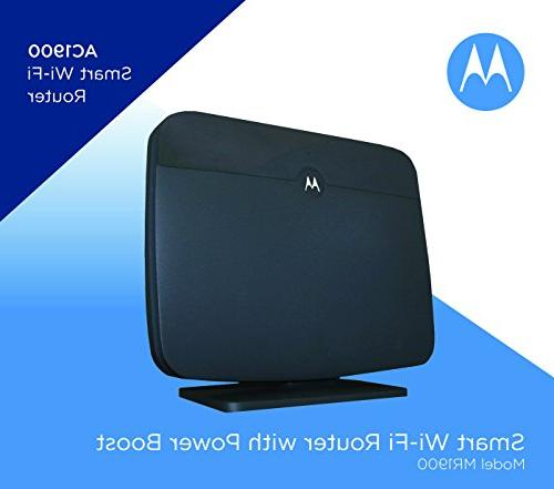 MOTOROLA Router for Charter Spectrum, Wi-Fi Gigabit with Power Boost, Model MR1900-CH
