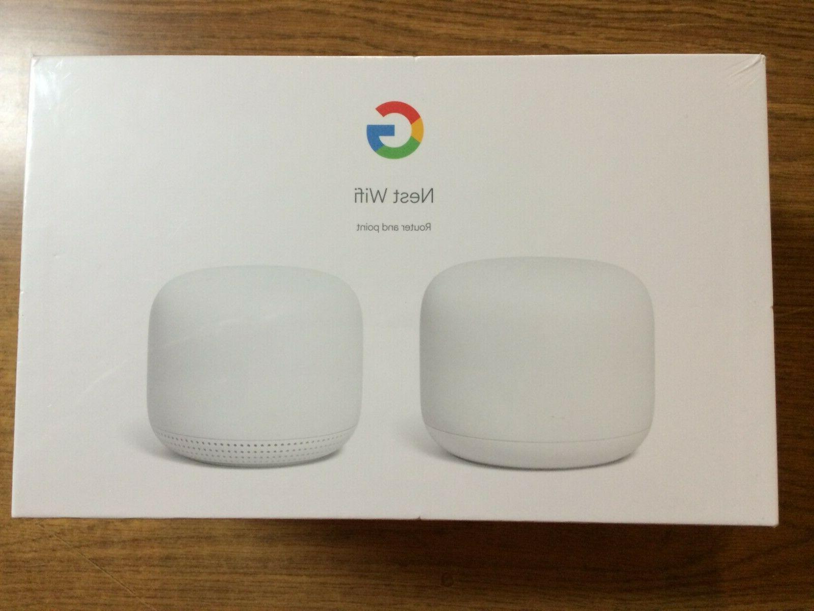 Google AC2200 4400 Sq ft Wireless Router System,