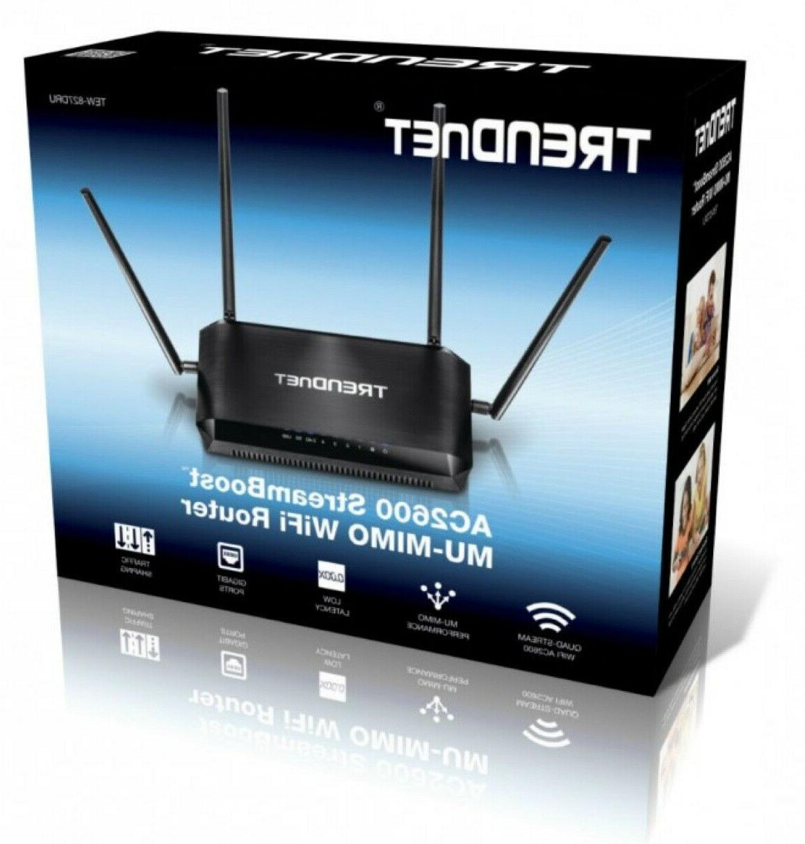TRENDnet AC2600 Dual-Band Wi-Fi Router AC2600: 1733 Mb