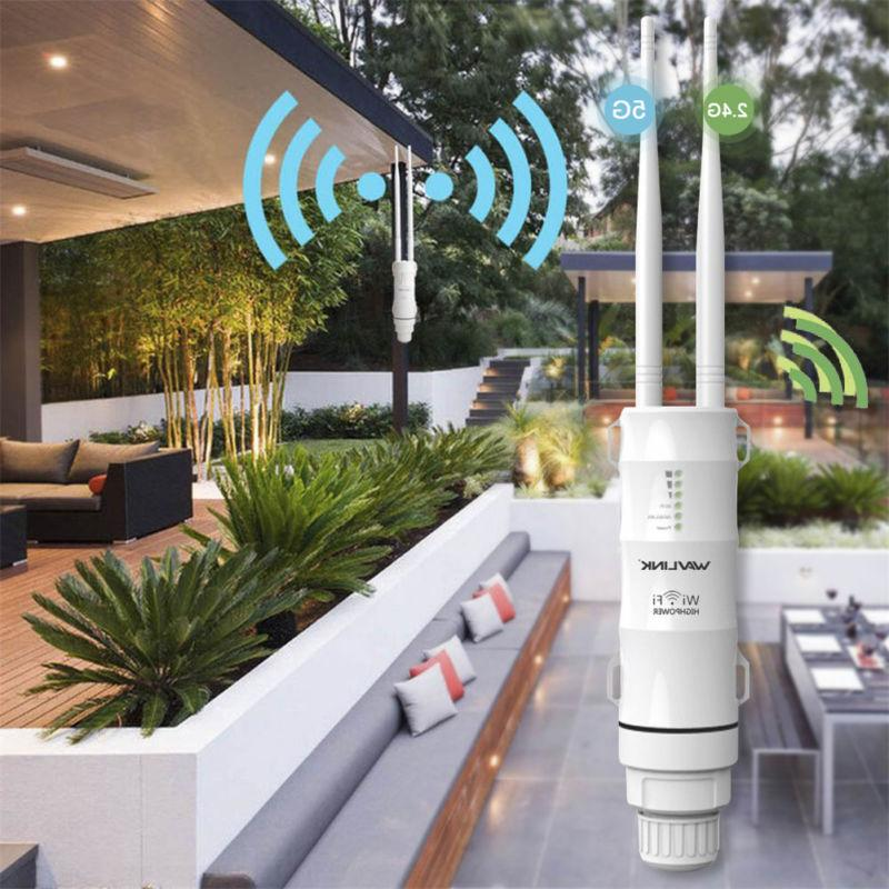 Wavlink AC600 28dbm Weatherproof Wireless WiFi / AP Repeater