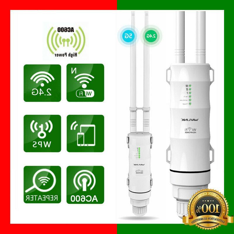 ac600 28dbm outdoor weatherproof wireless wifi router