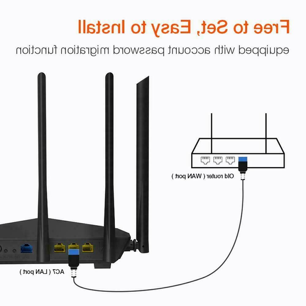 Tenda Router 1200Mbps WiFi Repeater