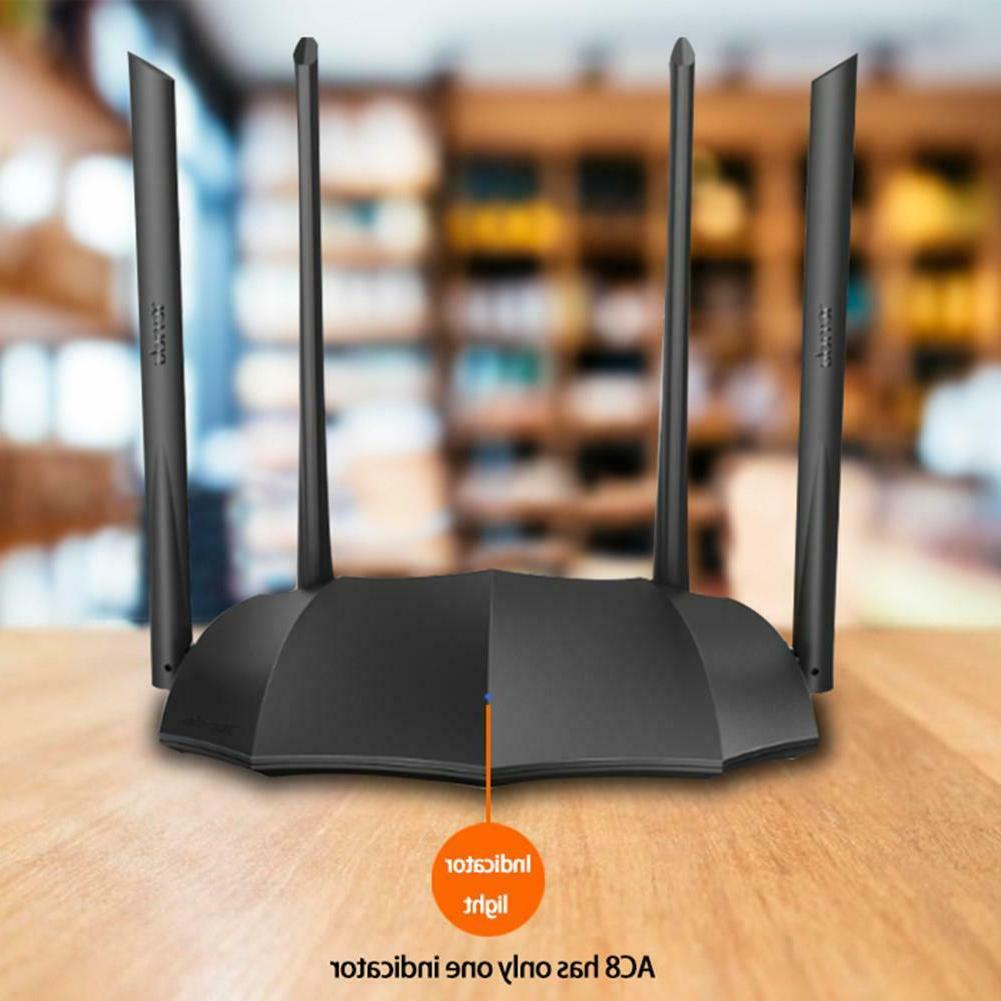 TENDA Gigabit Router AC1200 WiFi 6dBi Antenna*