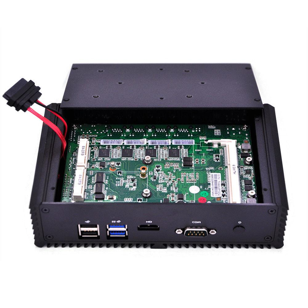 Qotom I5 4th 4 LAN Firewall Router Industrial PC
