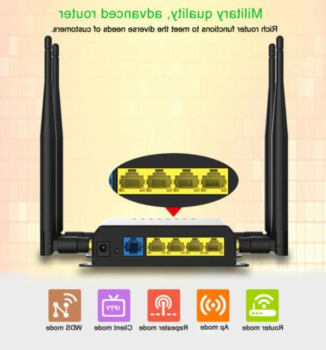 Cioswi 300Mbps 4G Router 4G Sim Wifi