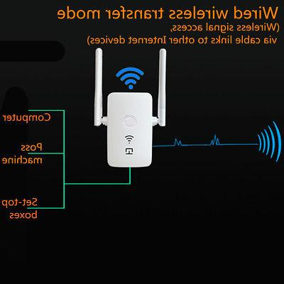 Dual WiFi Repeater Router Range Extender Booster Network