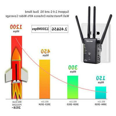 Wavlink Router Dual Repeater Signal Booster