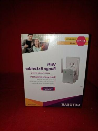 ex3700 wifi range extender ac750 dual band