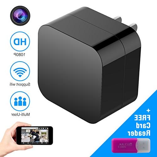 hidden spy wall charger nanny