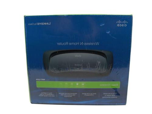 Linksys WRT120N Wireless-N Home Router