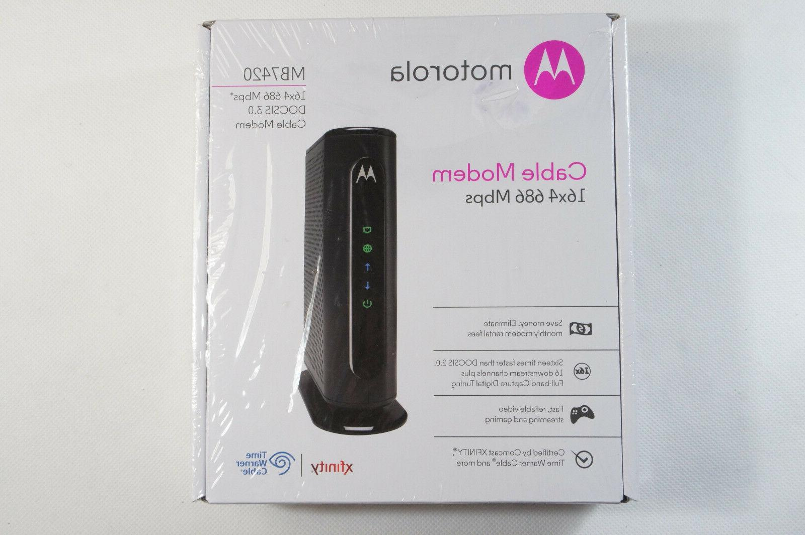 mb7420 10 300mbps modem brand new free
