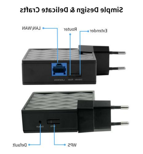 150Mbps Wifi-Repeater Range Extender Signal Booster Ethernet