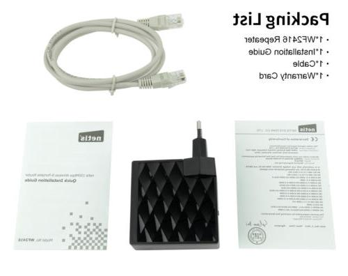 150Mbps Wifi-Repeater Extender Signal Booster Ethernet Router