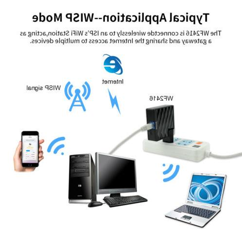 150Mbps Wifi-Repeater WirelessN