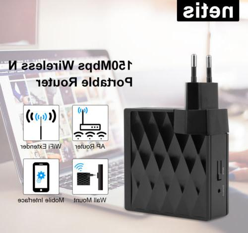 mini 150mbps wifi router repeater wireless n