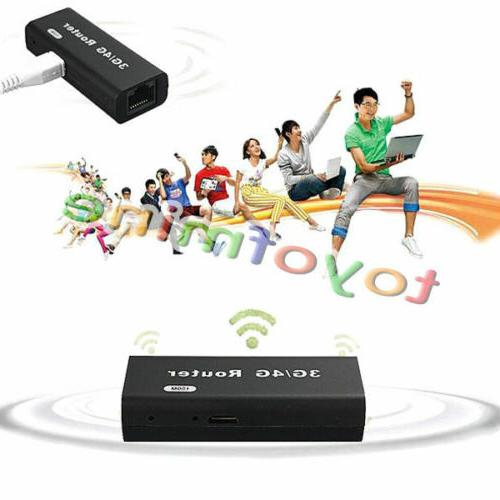 Mini Portable 3G/4G Hotspot 802.11b/g/n 150Mbps USB Router