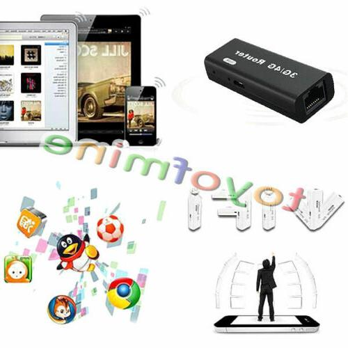 Mini Portable 3G/4G Hotspot 802.11b/g/n USB Wireless Router