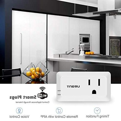 Mini Smart Plug Compatible with Assistant IFTTT, Required, Listed Remote Control Smart AMAKE