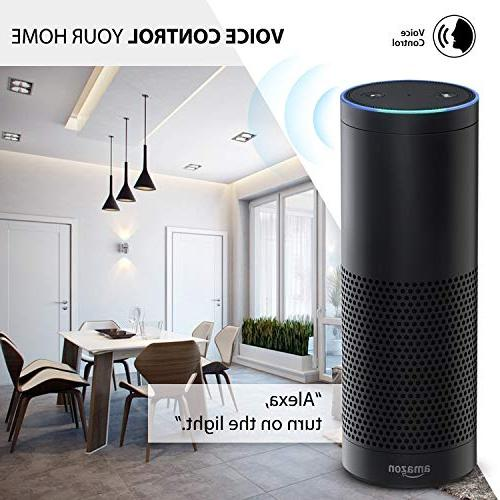 Mini Smart Compatible Alexa Assistant Required, Listed Remote Control by AMAKE