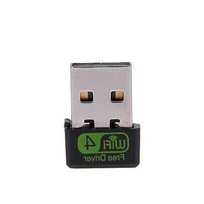 Mini WiFi Router Adapter Network Receiver Plug &