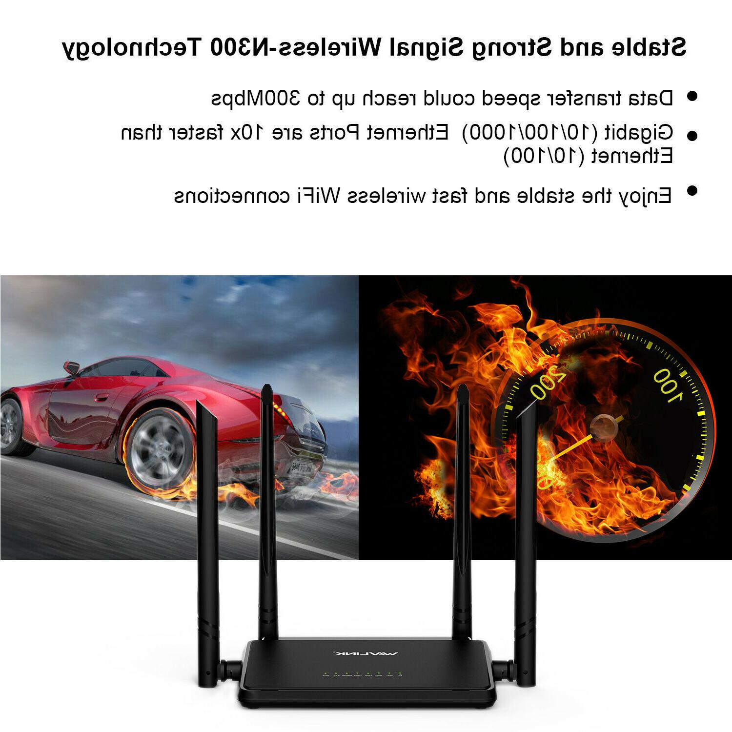 n300 wireless router designed power