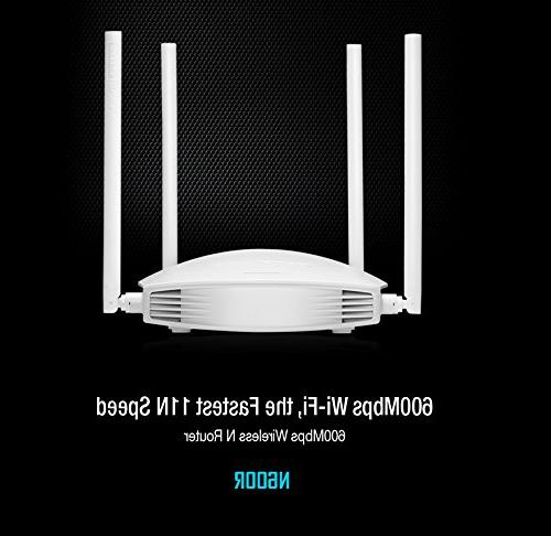 TOTOLINK 600Mbps Router, 2.4G Wireless Router