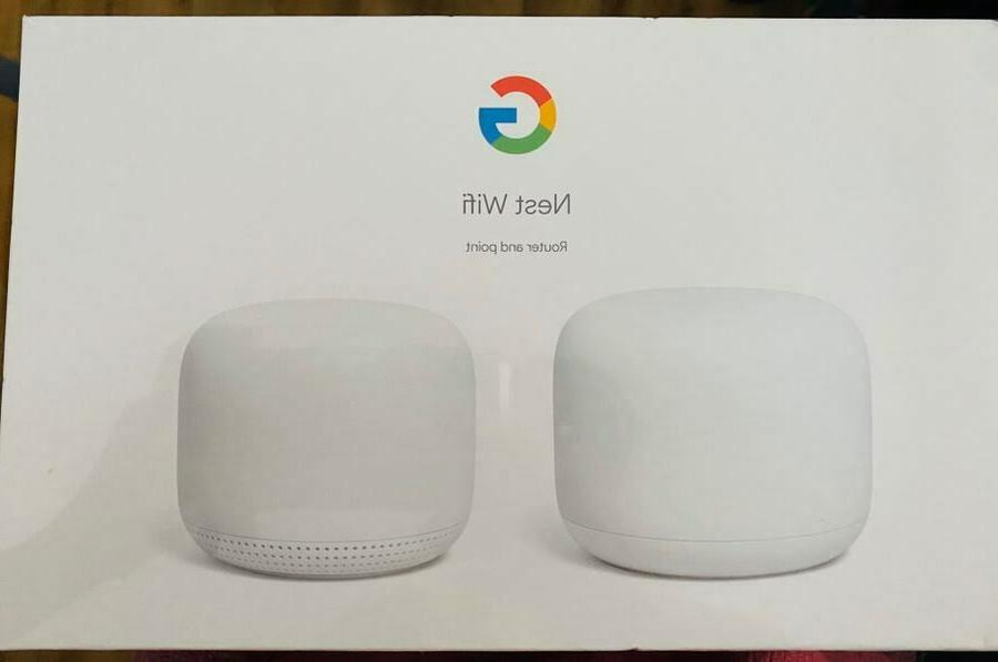 nest wifi ga00822 us router and point