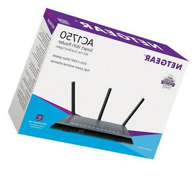 NETAR Smart WiFi Router With Dual For
