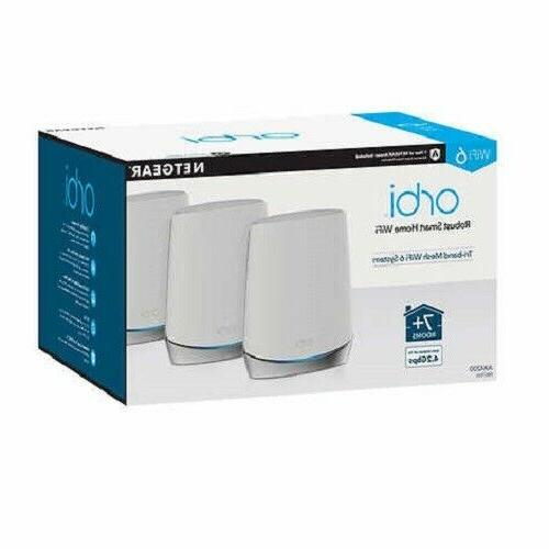 NETGEAR Mesh with Cyber Security, 3-pack