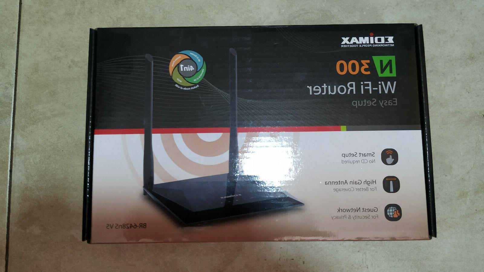 NEW BR-6428NS WiFi Wireless Router 4-Port Network