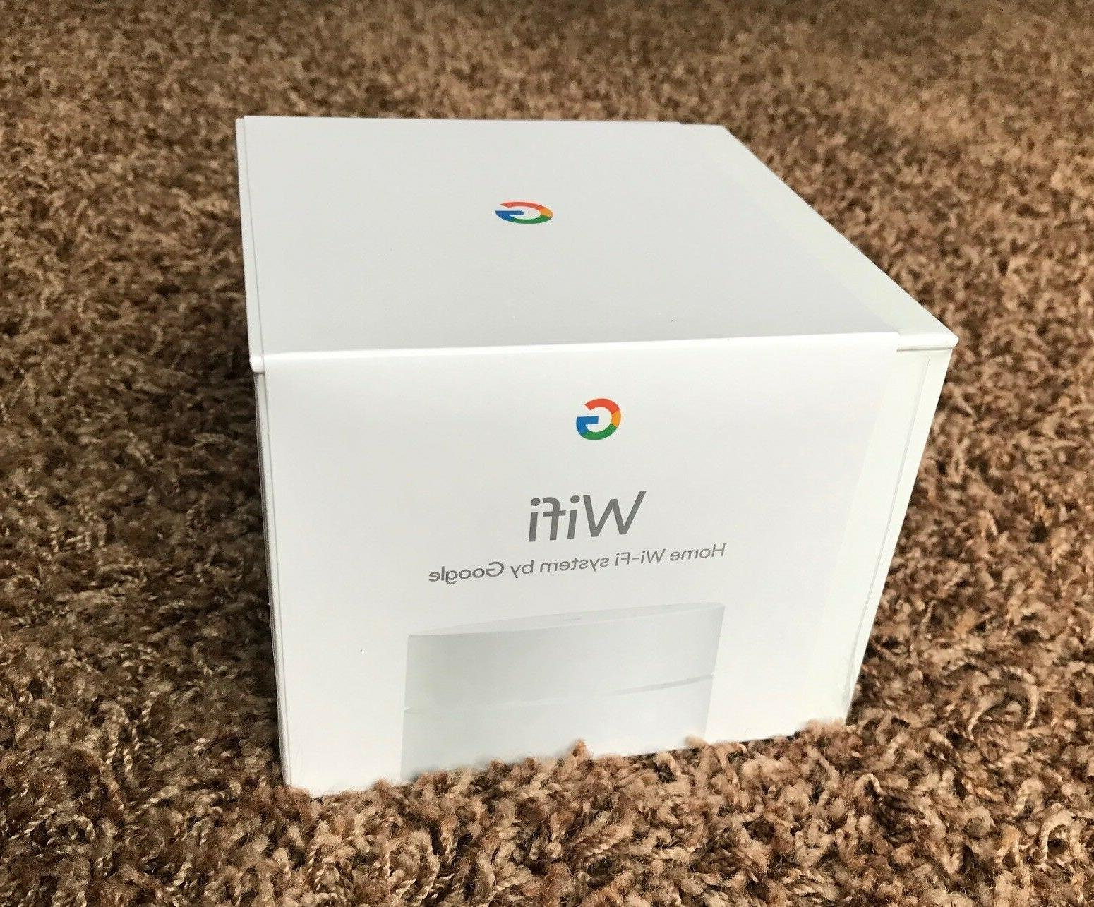 NEW Google Home Wifi Single System Replacement Router Mesh N