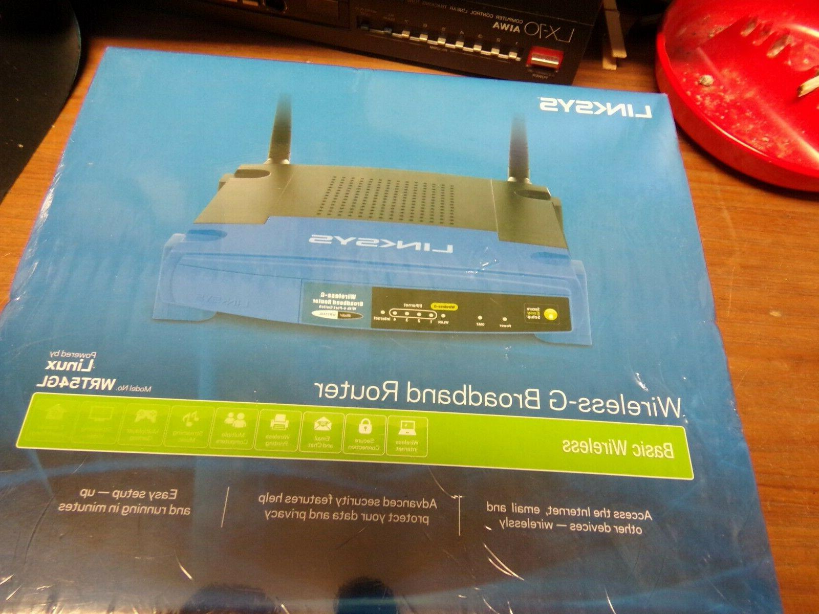 New Linksys 2.4Ghz Wireless-G Broadband