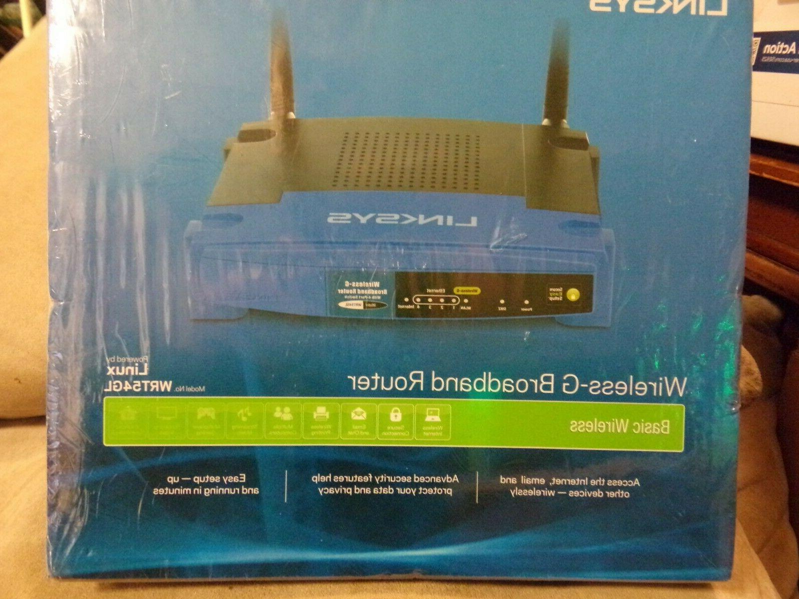 New Linksys Linux 2.4Ghz Wifi Broadband