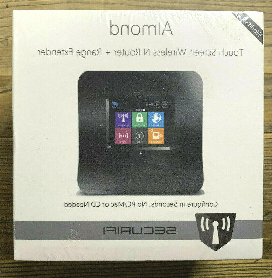 new sealed almond touch screen wireless n