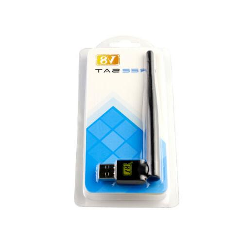 NEW USB Wifi Wireless Adapter with Antenna for FREE V8 series US