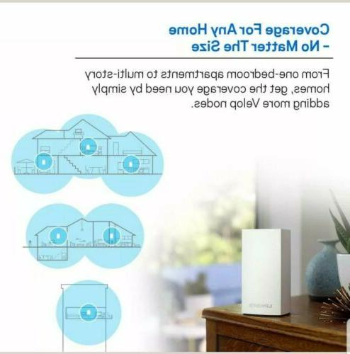 New Velop AC3600 Dual-Band Whole Mesh System 3 Pc