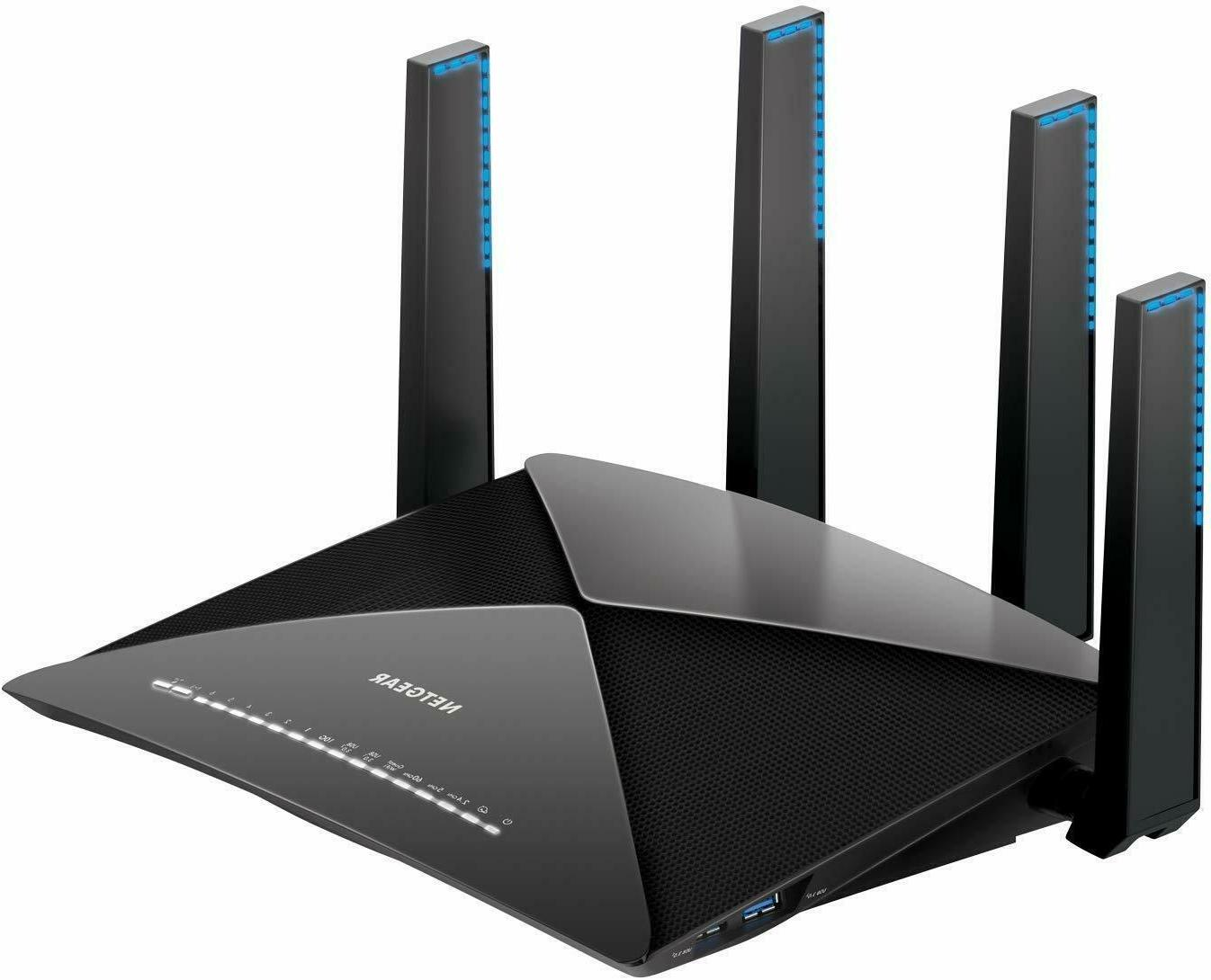 NETGEAR Nighthawk X10 Smart WiFi Router  - AD7200