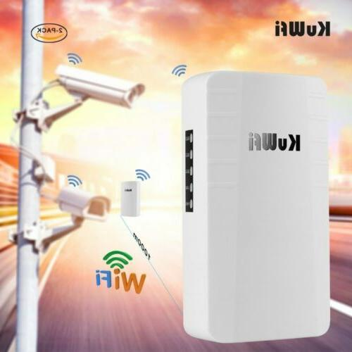KuWFi Outdoor Router 2.4Ghz 300Mbps Point Point