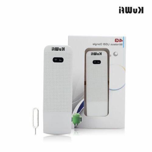 KuWFi routers WiFi unlocked SIM card slot