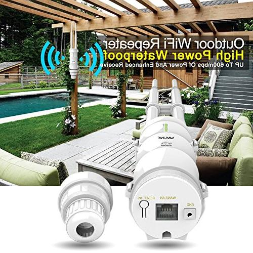High Weatherproof CPE/WiFi Extender/Access Point/Router/WISP 150Mbps + 5GHz Dual-Polarized Antenna