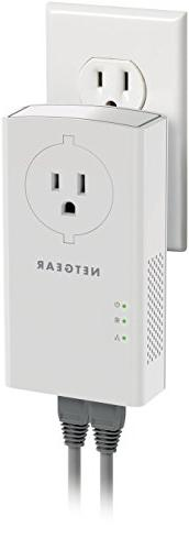 NETGEAR Mbps Gigabit Ports with Passthrough Extra Outlet