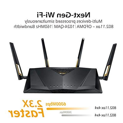 ASUS RT-AX88U Next-Gen WiFi Dual Band Wi-Fi Qos