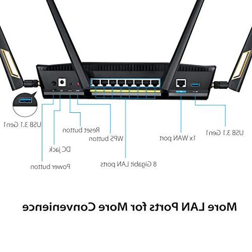 ASUS RT-AX88U WiFi Wireless Qos AX6000 Router