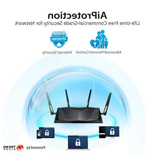 ASUS RT-AX88U WiFi Wireless Dual Band Qos AX6000