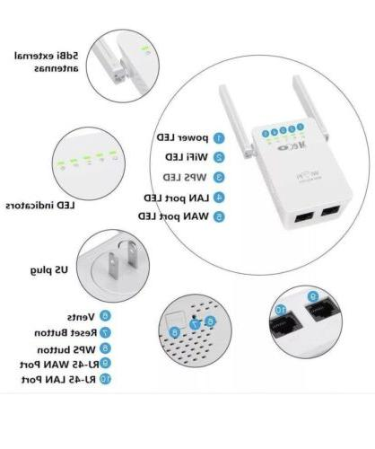 MECO Wireless Repeater Signal