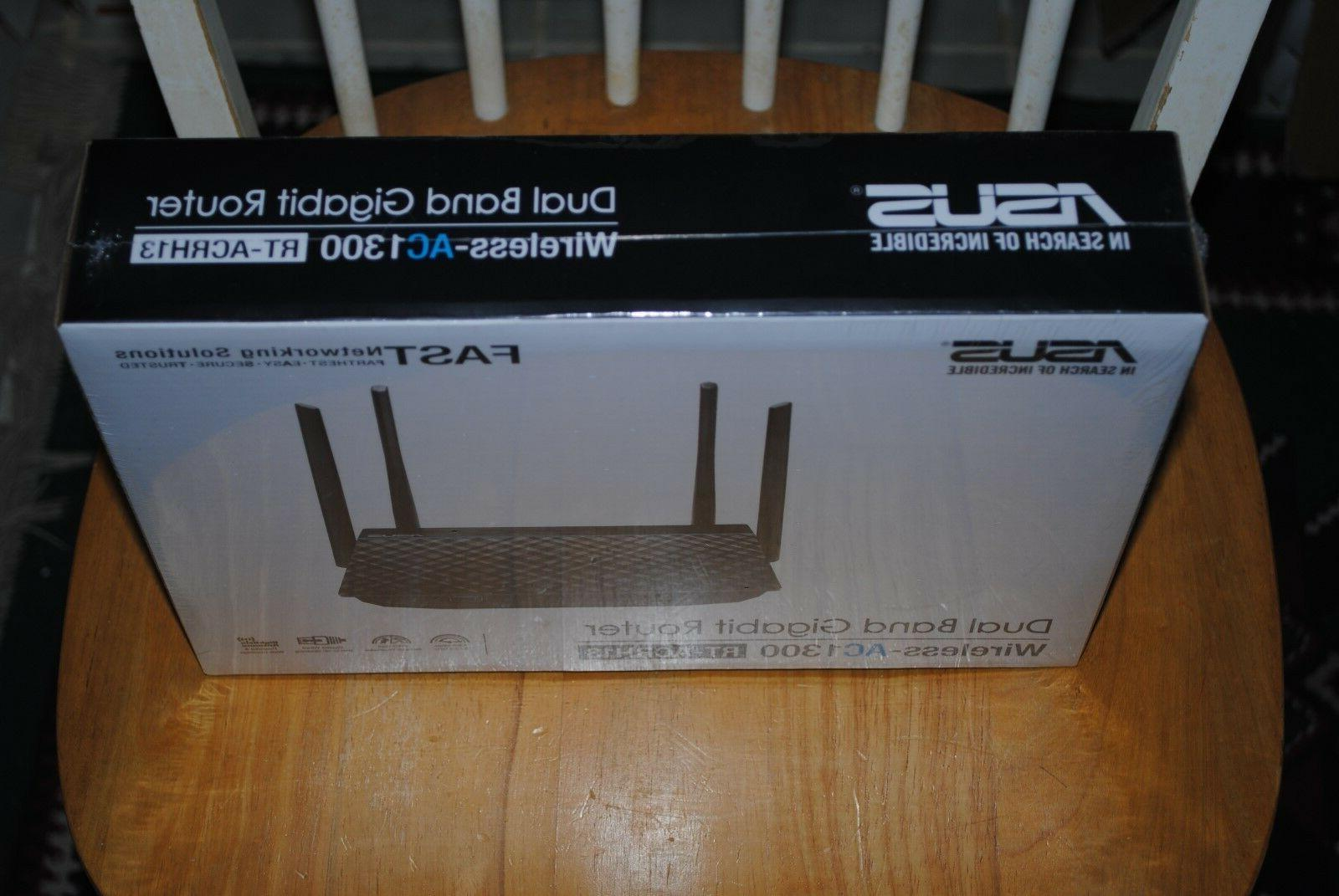 ASUS RT-ACRH13 Dual-Band AC1300 4-port Router
