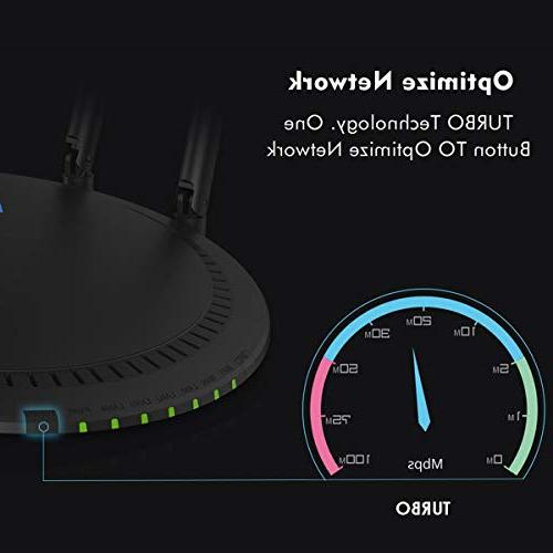 WAVLINK AC1200 Dual-Band Ethernet 2.4Ghz High Wireless Box Range for Playstation PC