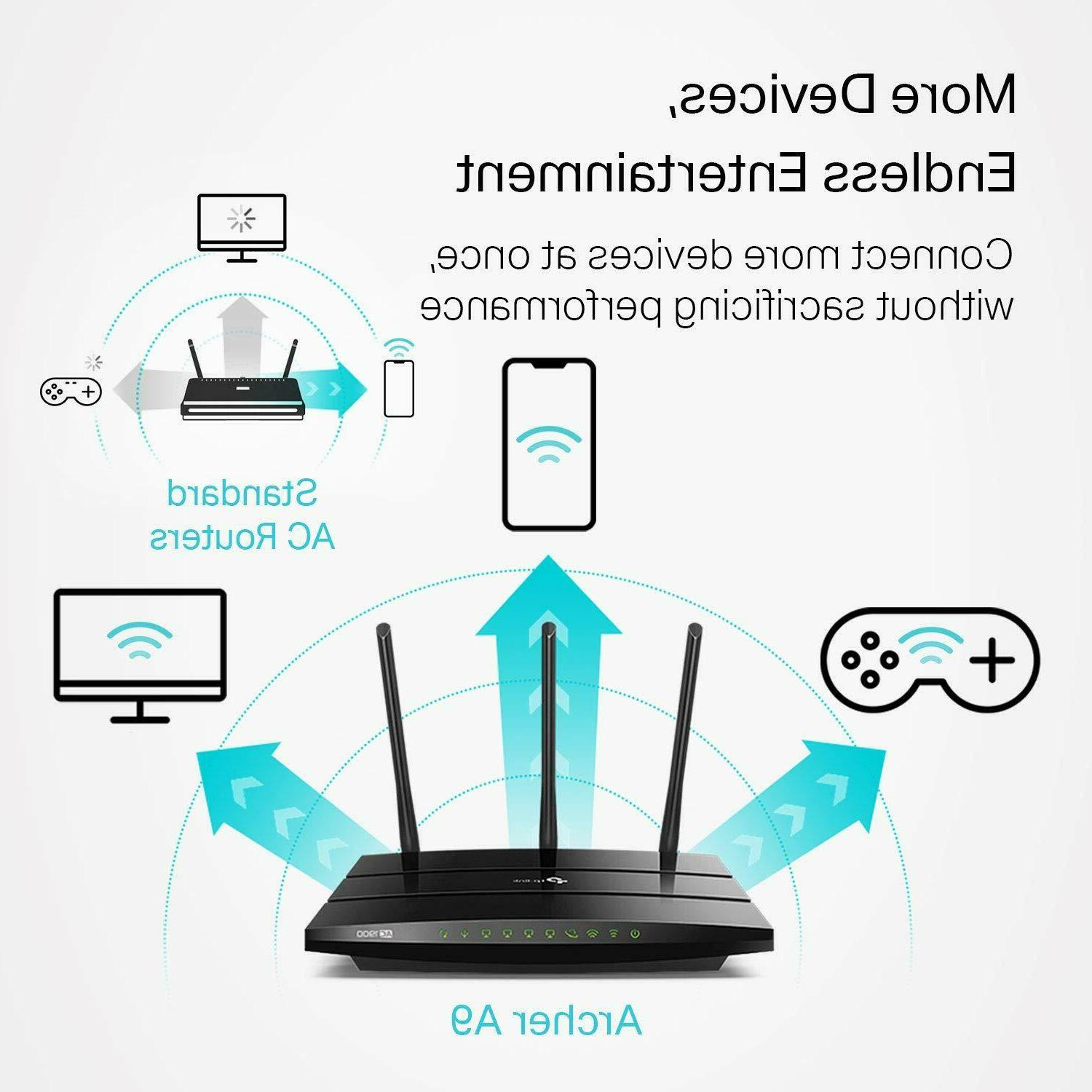 Smart WiFi Router High Dual with